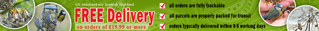 Free Delivery in UK Mainland On Orders of £19.99 or More