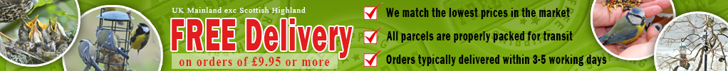 Free Delivery in UK Mainland On Orders of £9.95 or More