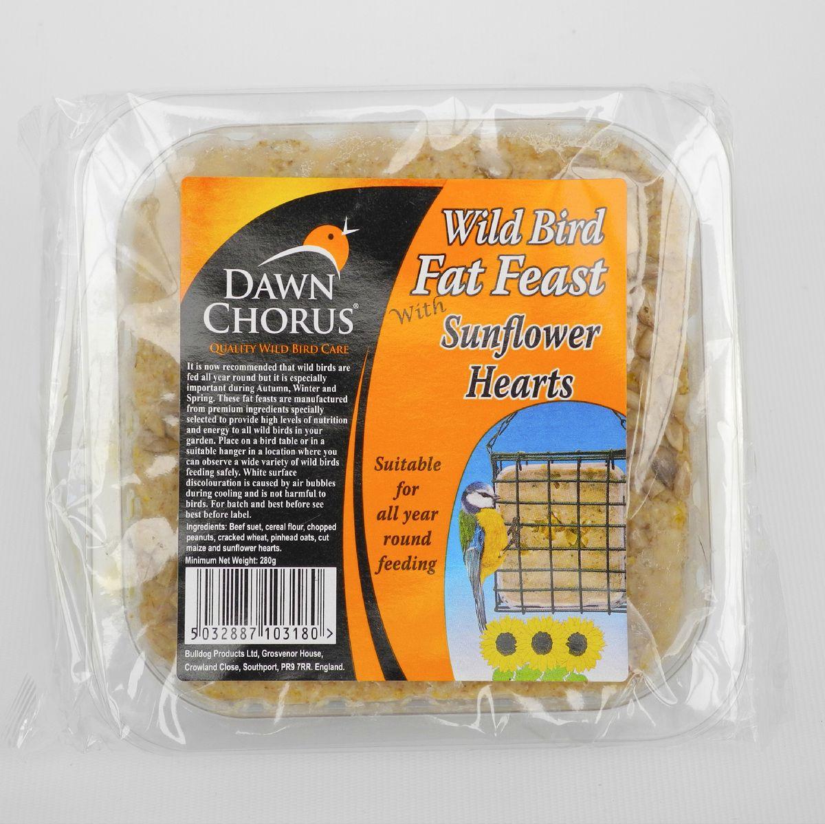 Sunflower Hearts Fat Feast 12 pack