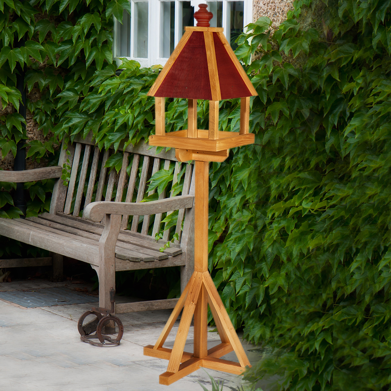 York Wooden Bird Table Twootz Com