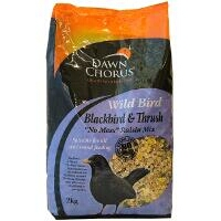 Blackbird and Thrush No Mess Raisin Mix